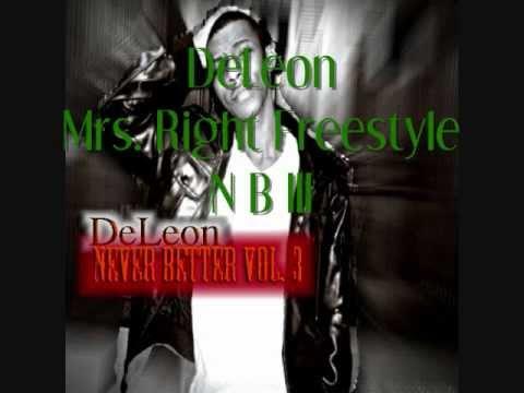DeLeon - Mrs. Right Freestyle