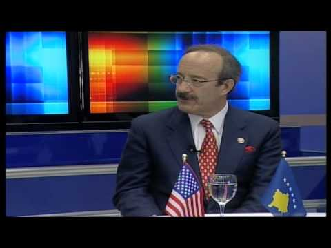 INTERVIEW BY RTV21 WITH CONG. ELIOT ENGEL, CONG.JEAN SCHMIDT & HARRY BAJRAKTARI IN JUNE 2008 KOSOVA