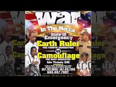 War In Tha Mecca - Earth Ruler Vs Camouflage - NY 2016-07-02 (Ragga Sound System 2016)