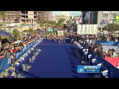 2014 Cape Town ITU World Triathlon Series - Elite Women