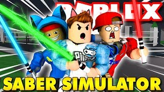 Proprietà Roblox . Il simulatore STAR WAR WARRIORS NOOB VAMY NAMLKUN-Saber simulatore ⚔️ KiA Pham