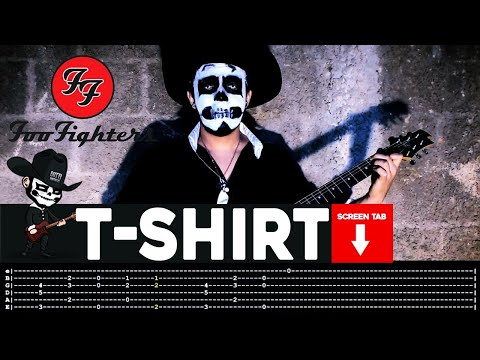 Foo Fighters - T-Shirt (Guitar Cover by Masuka W/Tab)