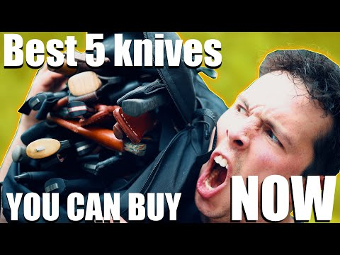 The 5 BEST Knives You can Buy RIGHT NOW!