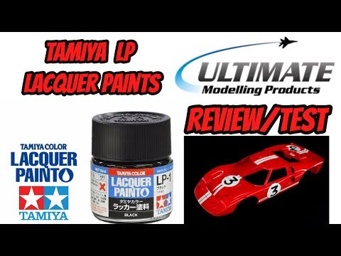 Tamiya LP Lacquer Paints Review/Test