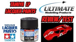 tAMIYA LAQUER PAINT REVIEW