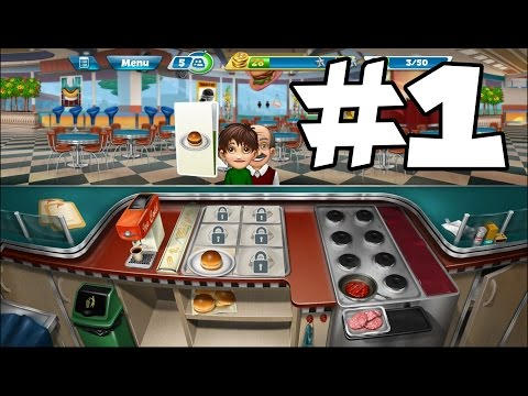 Download Cooking Fever - First Time - free android game -  GAMEPLAY part 1 Pics
