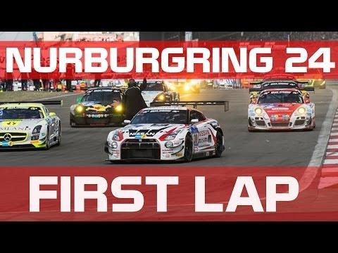 FIRST LAP ONBOARD GT-R GT3- NURBURGRING 24h
