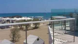 Crete, knossos beach hotel frontside and beachside 2014