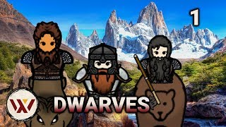 red ted hobbitses 1 merciless melee dwarves s2 rimworld beta 19 lets play gameplay
