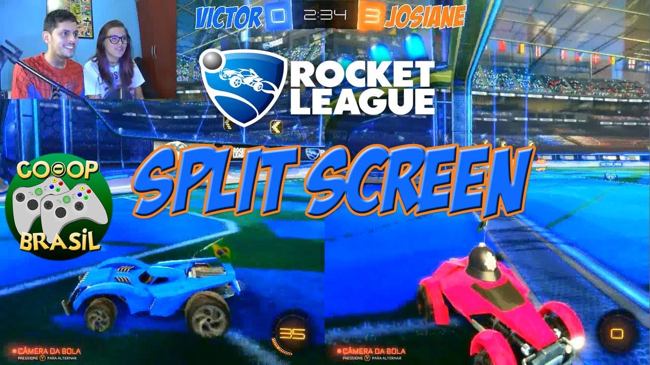Rocket League Splitscreen