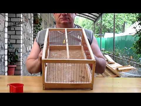 Удиви подарком! МК №11 Декоративная клетка для птиц своими руками