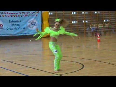 Angela Absalon Disco Dance solo juniors Open class Spring Cup Pärnu 2016