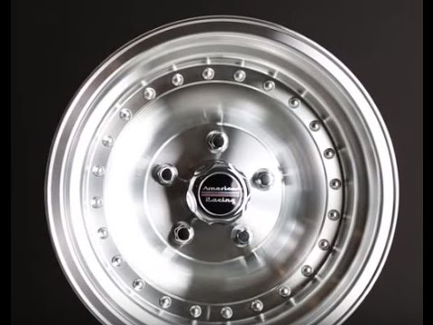 American Racing AR61 Series Outlaw I Wheels AR615 Machine Finished
