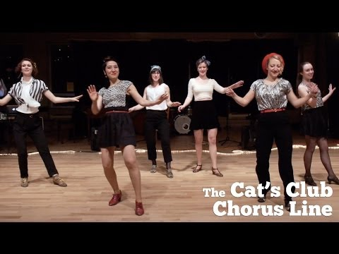 Jazz Dance in Montreal - Cats Club Chorus Line - Seven Come Eleven