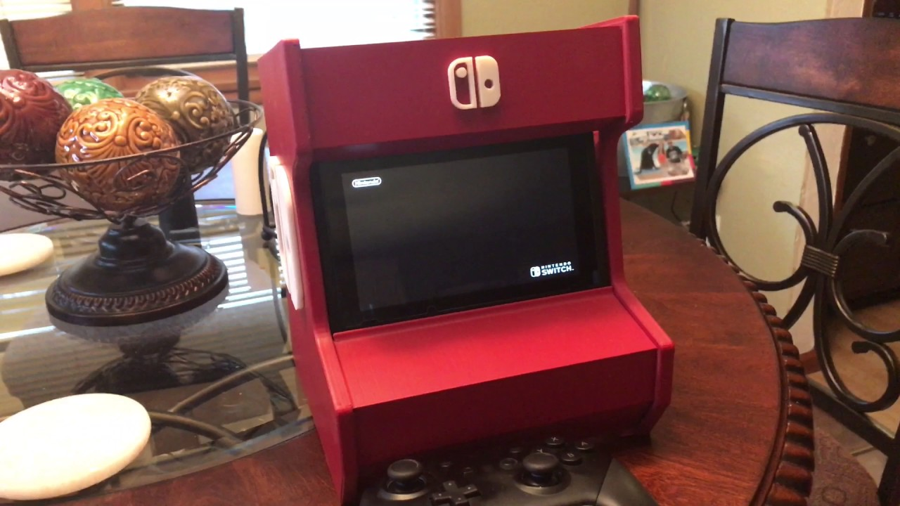 3D Printed Nintendo Switch Arcade Cabinet - YouTube