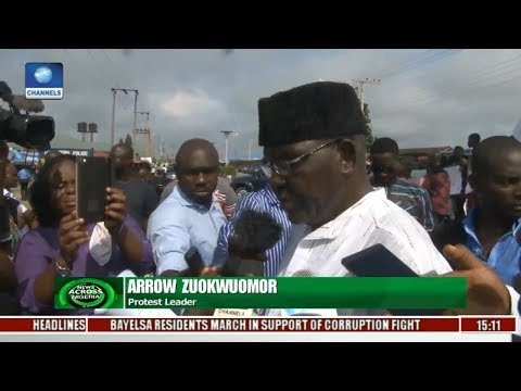 News Across Nigeria: Bayelsa Residents Demand Return Of Looted Funds