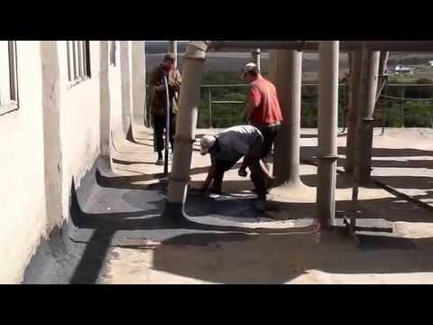 видео: ремонт мягкой кровли мастикой