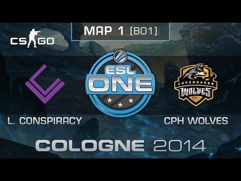 London Conspiracy vs. Copenhagen Wolves - ESL One Cologne 2014 - Group B - CS:GO