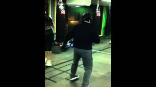 Pound 4 Pound Training Session