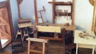 Tour Of A Miniature Dollhouse Carpentry Shop