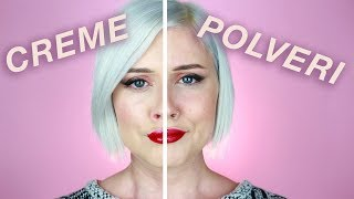 CREAM VS POWDER CHALLENGE (SONO UN FAIL)
