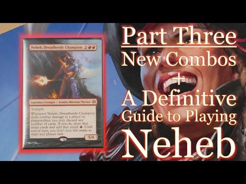 valtava myynti huippusuunnittelu ilmainen toimitus A Better Neheb, Dreadhorde Champion (Commander / EDH MTG Deck)
