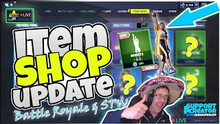 🏀MenamesCho's LIVE 🔵 *NEW* BUCKETS 🏀 ITEM SHOP UPDATE - Fortnite Battle Royale - 22nd May 2019