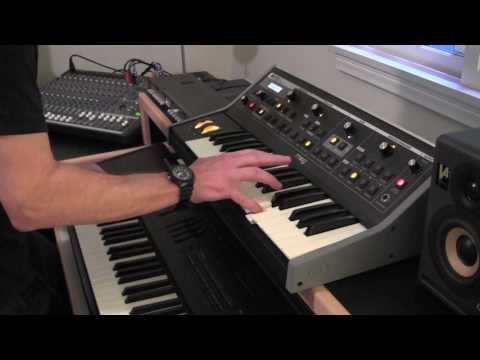 Michael Gough plays the Moog solo from ELP's Lucky Man