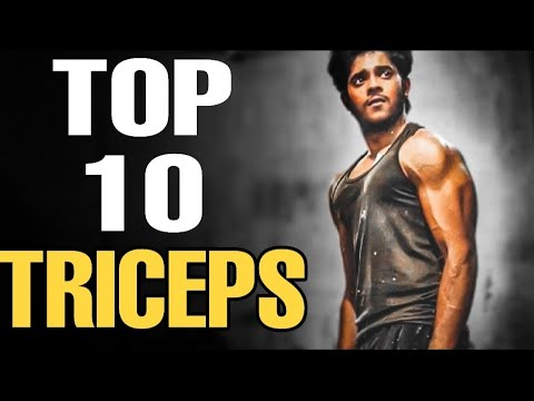 TOP 10 TRICEP EXERCISE | Best exercises for triceps
