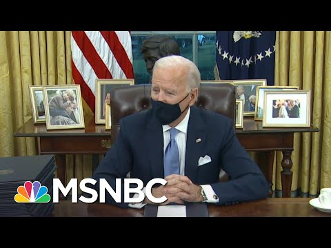 Biden Brings Personal Touch To Oval Office With 'Towering Figures From American History' | MSNBC