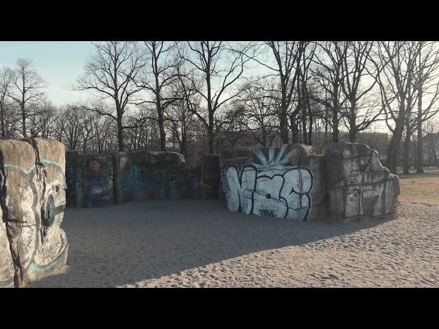 In the Volskpark Friedrichschain.