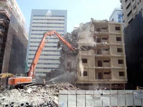MTKA DEMOLITION - AL MEZIN - 4.500 M2, 9 Floors, 45 Days