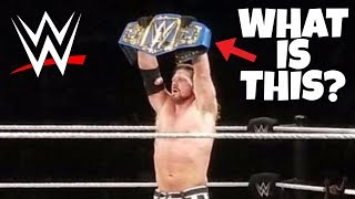 AJ STYLES SHOWS BLUE WWE CHAMPIONSHIP AT HOUSE SHOW!!! WWE NEWS
