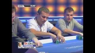 Европейский Покерный Тур 9. PCA. Турнир суперхайроллеров 4/4