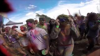 Holi festival Auckland