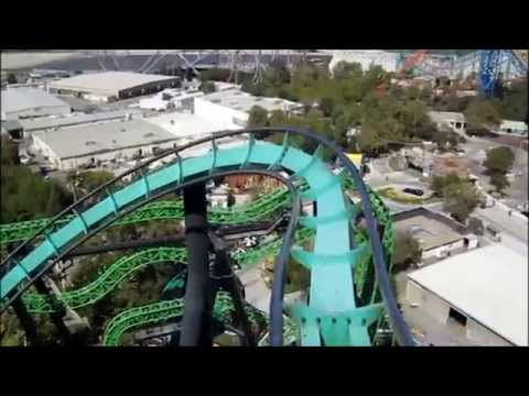 Top 10 Rollercoasters Six Flags Magic Mountain