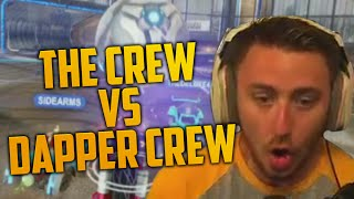 THE CREW VS DAPPER CREW (Rocket League)