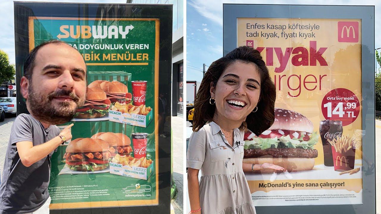 Reklamını Gördüğün Yemeği Ye