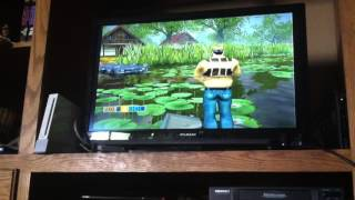 Nintendo Wii rapala fishing