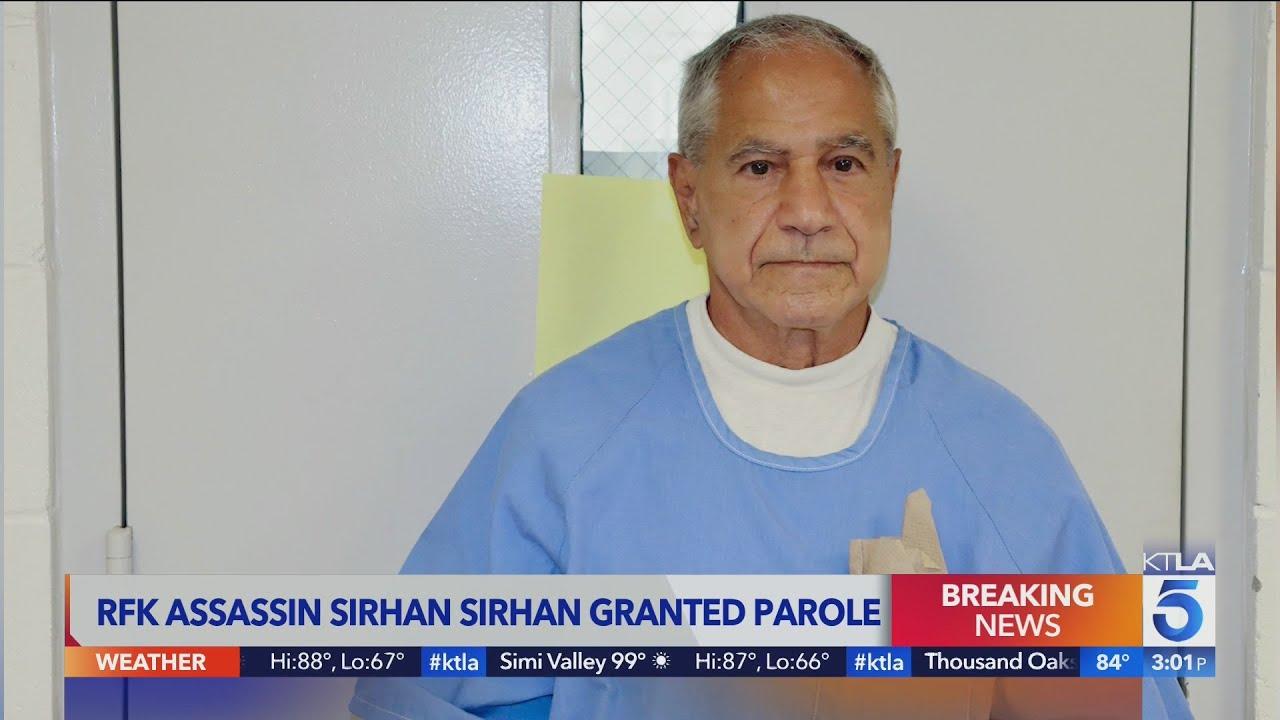Sirhan Sirhan: Sen. Robert F. Kennedy's convicted assassin ...