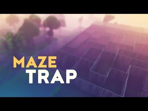 MAZE TRAP! (Fortnite Battle Royale) thumbnail