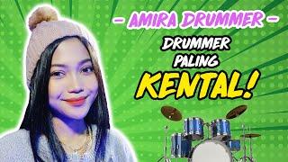 🔴TERJAH : Amira Drummer Paling SEMPOI bila diterjah! Hang awat haa?