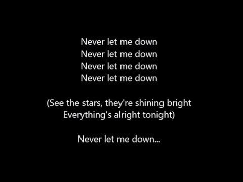 Depeche mode never let me down again lyrics