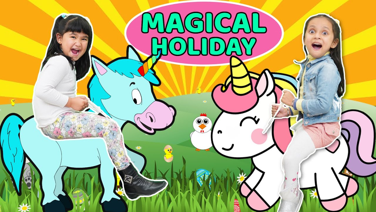 Kids Pretend Play MAGICAL VACATION with Cadbury Lickables   ToyStars