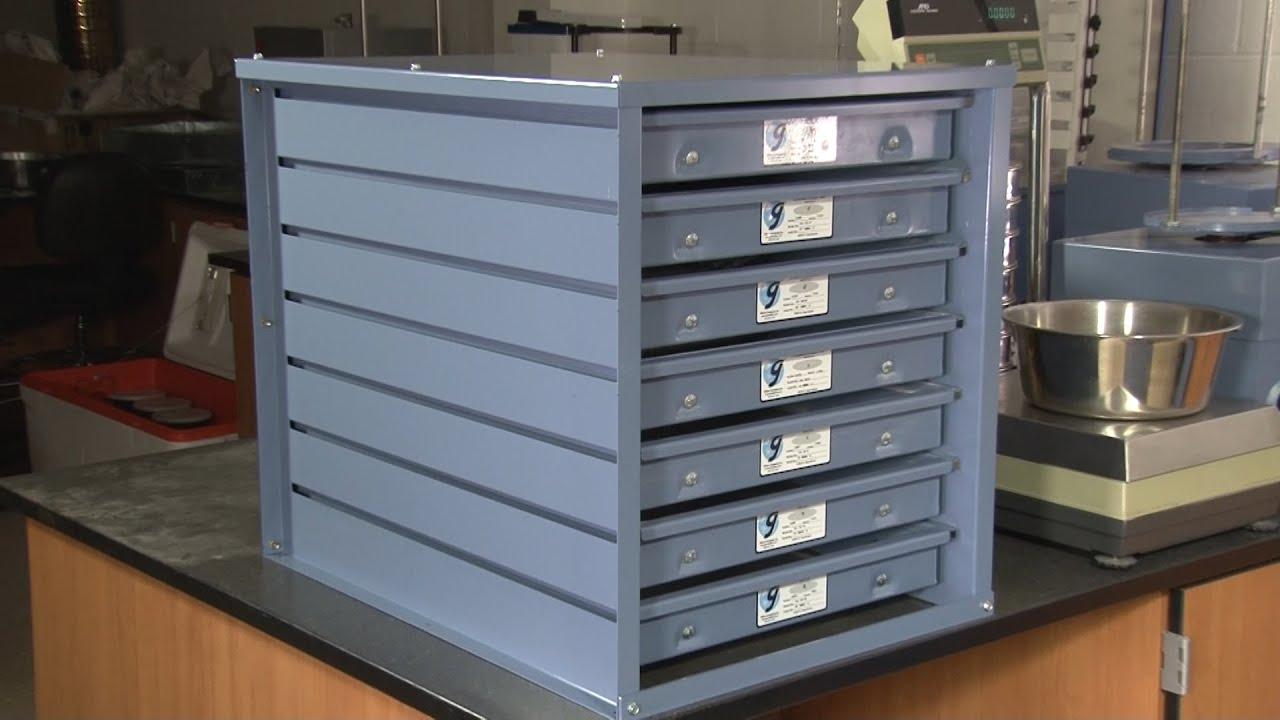 Gilson Screen Tray Storage Rack (TSA-156) & Gilson Screen Tray Storage Rack (TSA-156) - YouTube