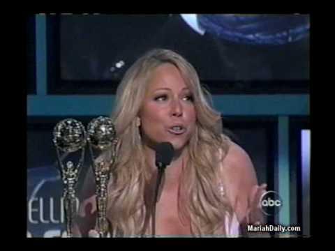 MariahCarey wins award of Best Selling Pop Female Artist @ WMA 2005