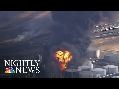 Several Injured After Explosion At Wisconsin Oil Refinery | NBC Nightly News