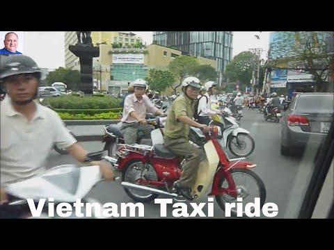 Vietnam Taxi ride - Saigon (Ho Chi Minh City) & Hanoi