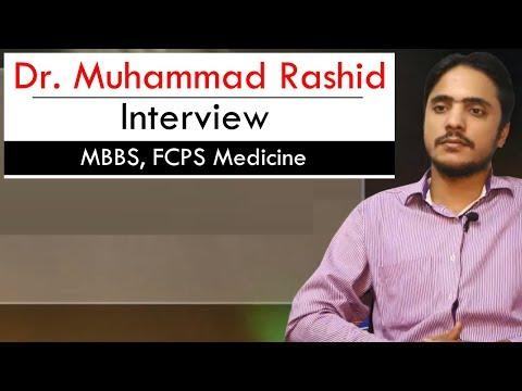 Dr. Muhammad Rashid (Interview) | MBBS, FCPS Medicine