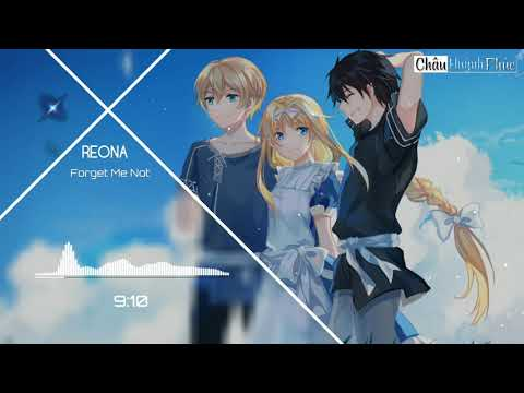 [ 1 HOUR ] Sword Art Online: Alicization Ending 2 Full -「Forget Me Not」by ReoNa